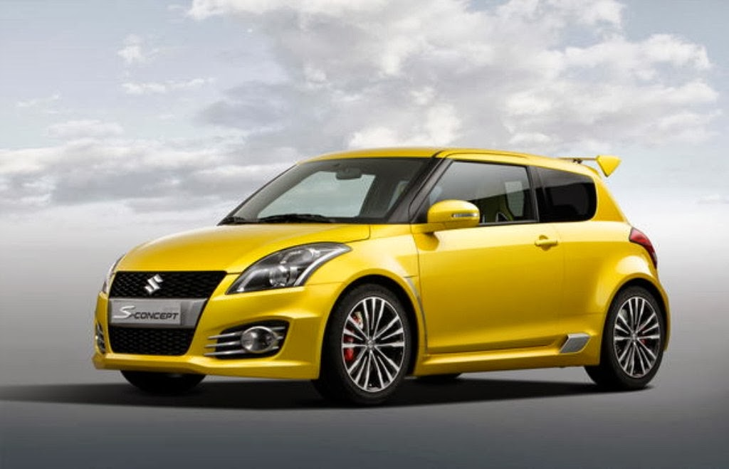 Maruti Suzuki Swift Sport Yellow Color Sporty Design Car ImagesMaruti Swift White Sport