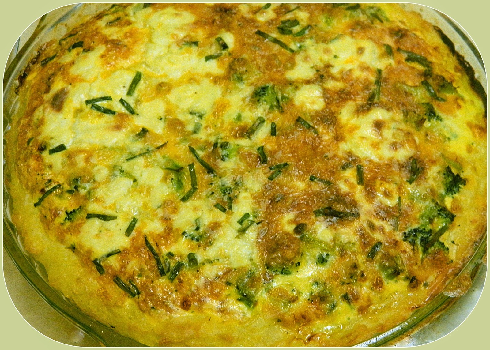 Broccoli Cheese Quiche Recipe Food Network