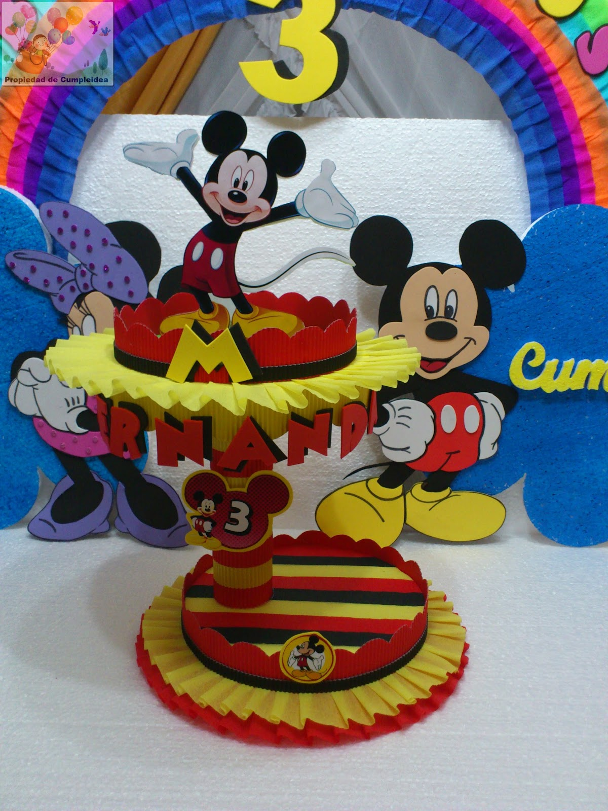 Mickey Mouse Decoraciones Para Fiestas ~ Pin Decoraciones Mickey Mouse Bebe Imagui Twiwaminenu Picture on