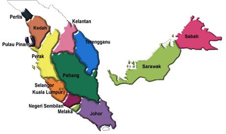 Malaysia Geography Koleksi Peta