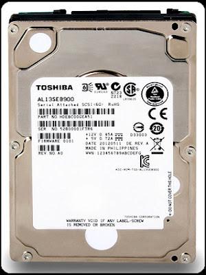Toshiba Mengenalkan Hard Disk Drive AL13SE Series 10.000 RPM