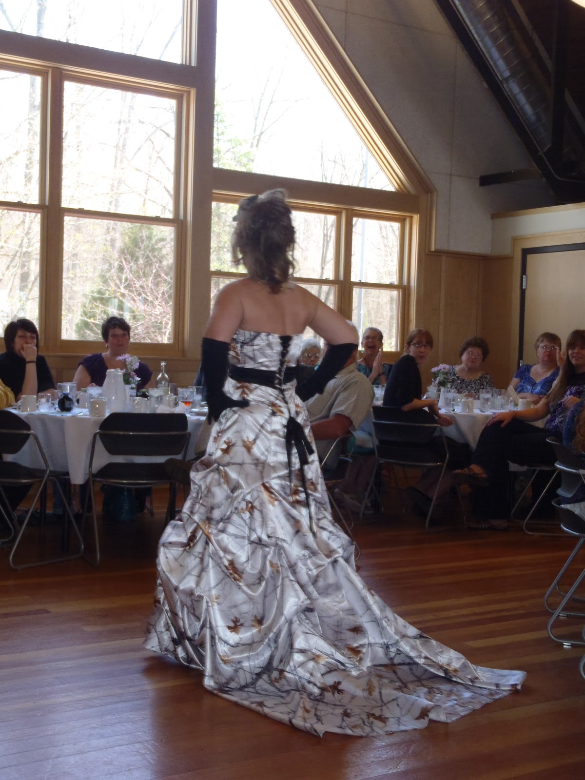 Modern Camo Wedding Dresses