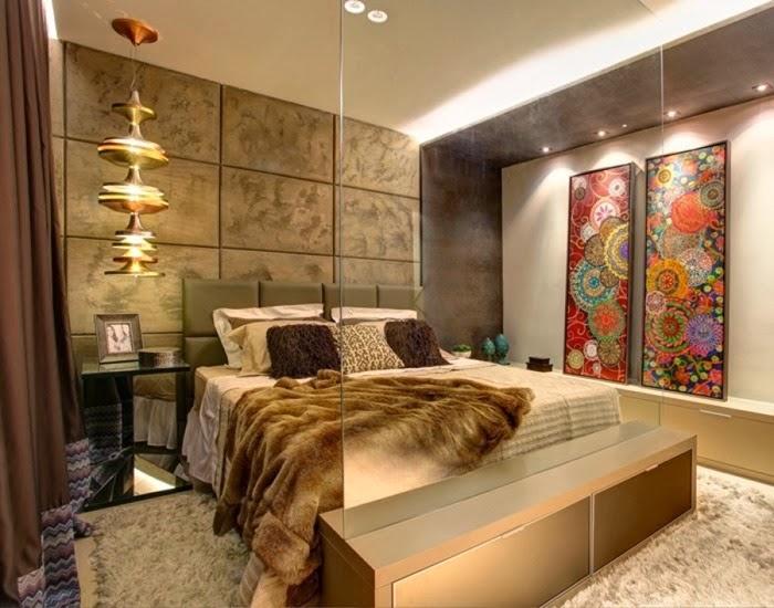 Estampa chevron o zigue zague tend ncia na decora o - Lo ultimo en decoracion de dormitorios ...