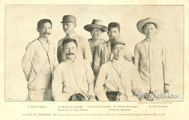 don pedro paterno Felipe buencamino and pedro paterno constituted one side of the conflict appalled by a series of victories of the american shortly before luna's scheduled arrival in cabanatuan, aguinaldo called all the men in that town and in san isidro to come over to his residence according to manuel luis quezon, who was a.