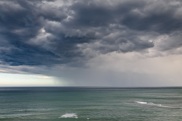 storm at sea off jan juc