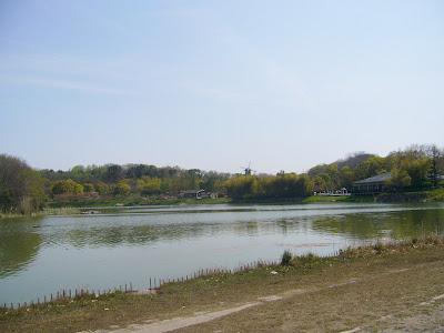 花博記念公園鶴見緑地ウォーキング・大池