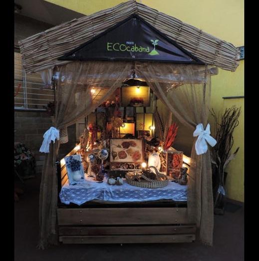 ECOcabana - vitrine itinerante