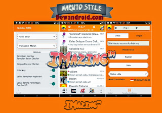 BBM Mod Anime Tema Naruto Apk 2.7.0.23 Collection + Add Clone + No Root