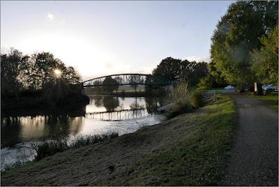 Le Pont du Grand Pas, à Sainte-Marie (35)