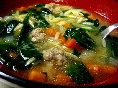 Italian Wedding Soup - Photo by Taste As You Go