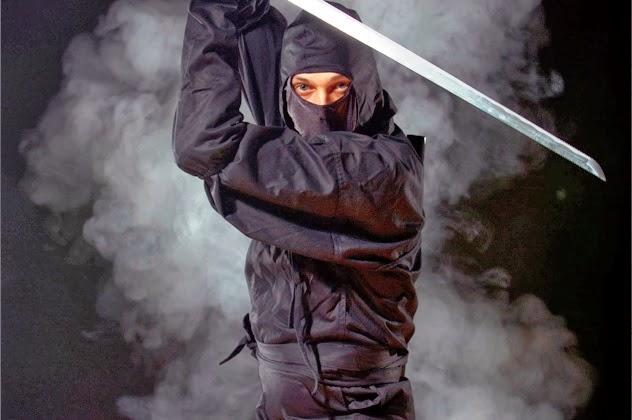 10 удивительных легенд о ниндзя