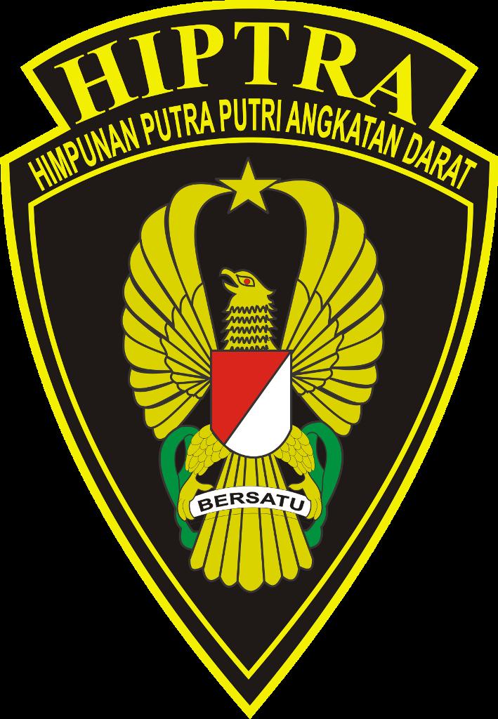 logo himpunan putra putri angkatan darat hiptra