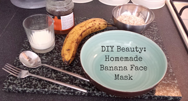 DIY Beauty: Homemade Banana & Oat Face Mask