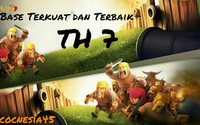 Formasi base COC TH 7 Terbaik
