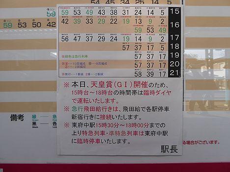 京王電鉄 ダービー臨時 急行 飛田給行き2 8000系