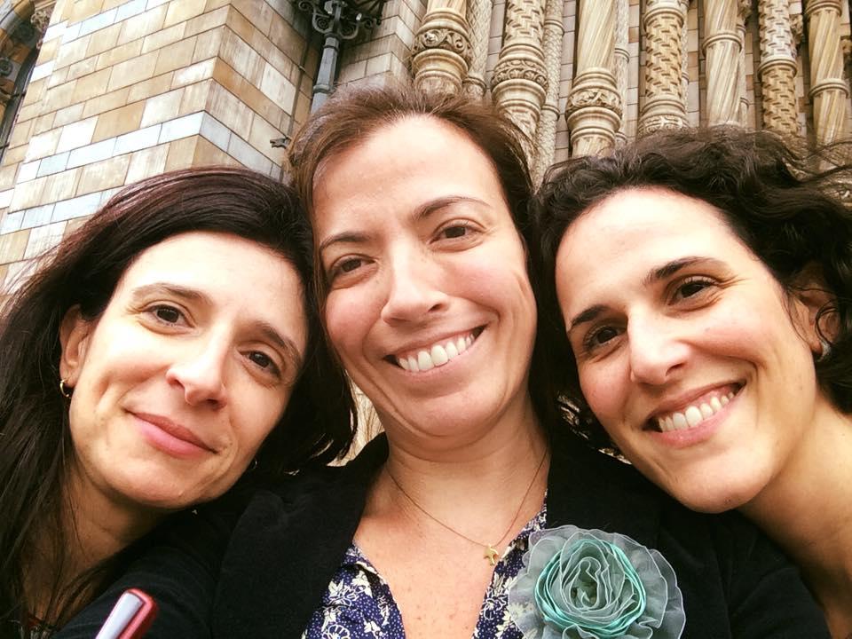 Trio Maravilha!!  Ana, Fê e Cris