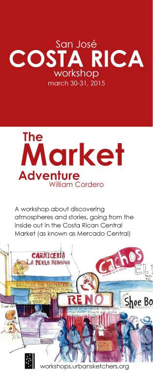 """""""LA AVENTURA EN EL MERCADO"""" Workshop, Mercado Central de San José"""