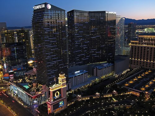 The Cosmopolitan Las Vegas by Allen McGregor