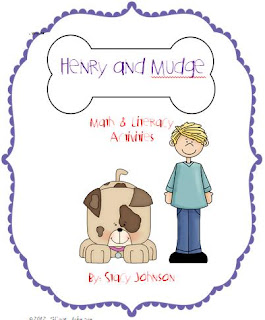 Henry and Mudge Pictures http://mrsjohnsonsfirstgrade.blogspot.com/2012/03/henry-and-mudge-and-spring-sale.html