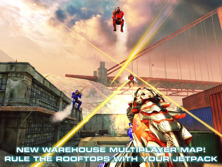N.O.V.A. 3 - Near Orbit Vanguard Alliance App iTunes Google Play Kindle App By Gameloft - FreeApps.ws