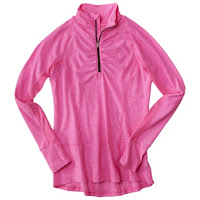 Style Athletics Target Workout Clothes C9 Pink Long Sleeve