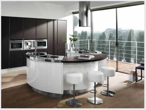 Cucina Stile Moderno Sirio : Cucine con isola rotonda foto moderne ...