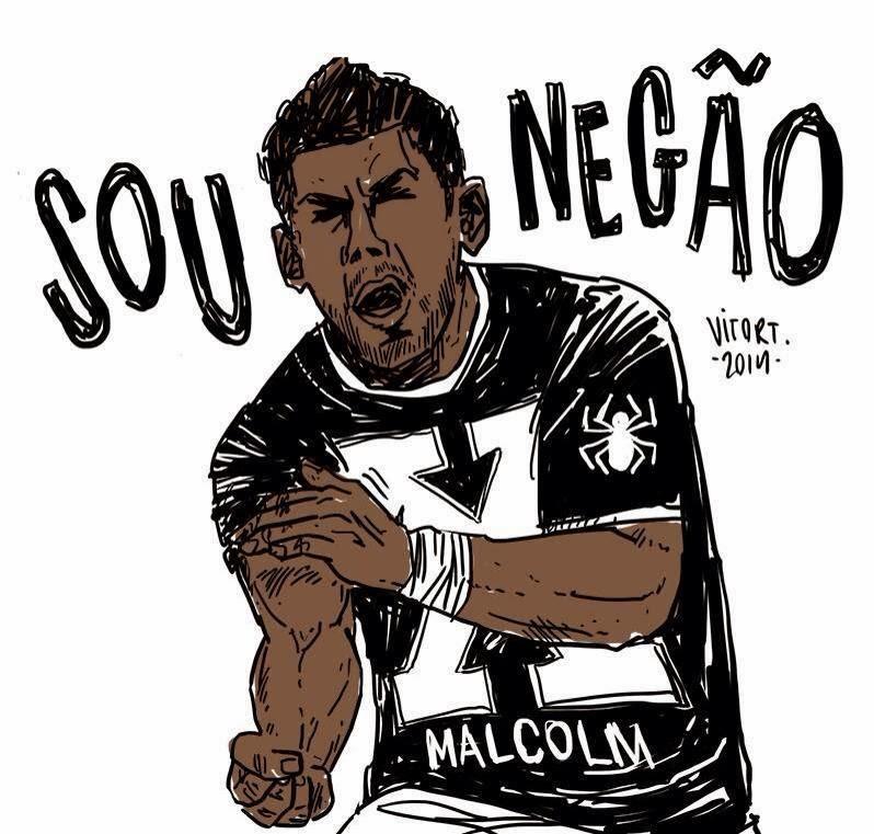 Mobilização no Facebook apoia o goleiro Aranha, do Santos, após caso de racismo em Porto Alegre