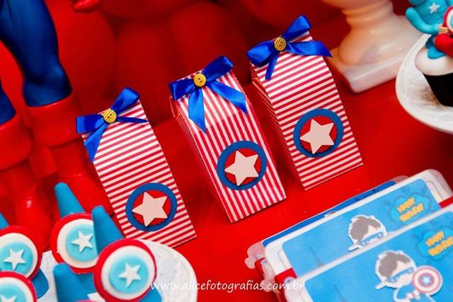 Festa: Capitão América- Uma aventura de heróis