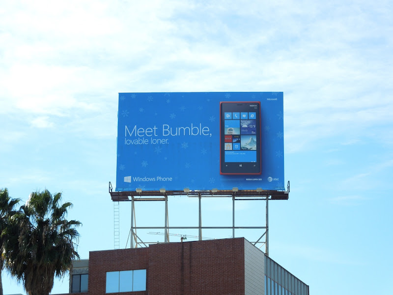 Meet Bumble lovable loner Windows Phone billboard