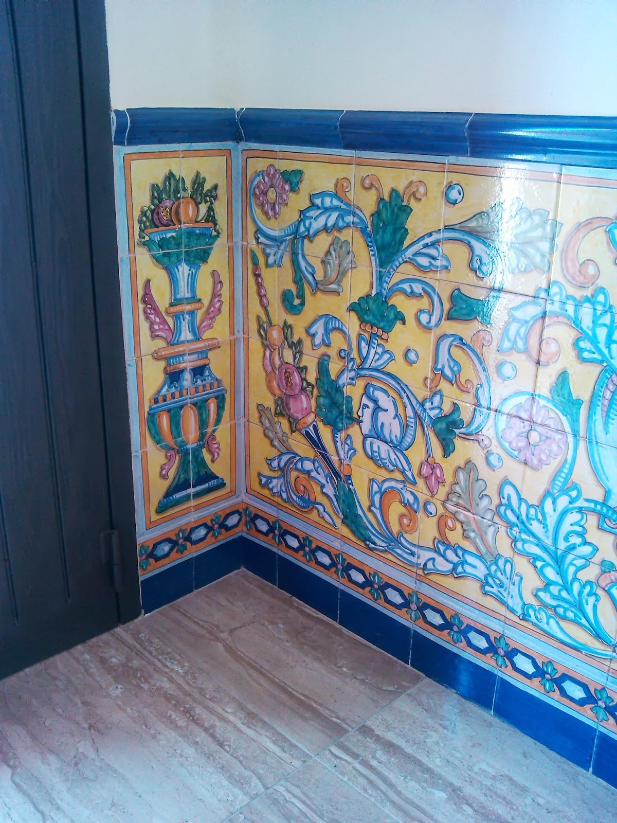 Ceramica art stica jose antonio chaira zocalo sevillano - Murales de ceramica artistica ...