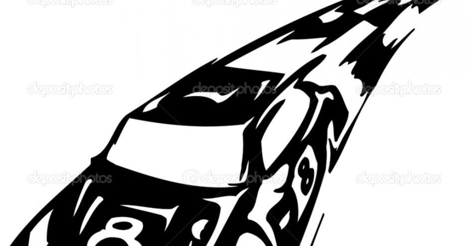 Stock Car Racing Clip ...