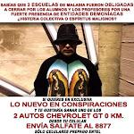 EN EXCLUSIVA           LO NUEVO EN CONSPIRACIONES DE SALFATE