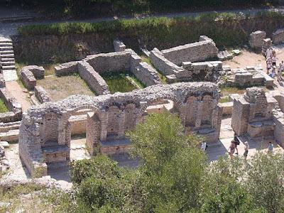Byzantine basilica, Butrint. Albania  [Credit: Wiki Commons]