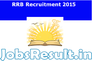 RRB Recruitment 2015