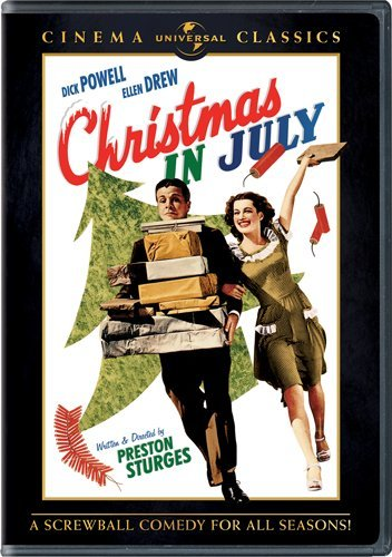 Christmas in July (1940) on Amazon