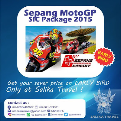 Malaysia MotoGP Package Oct 2015 - Salika Travel