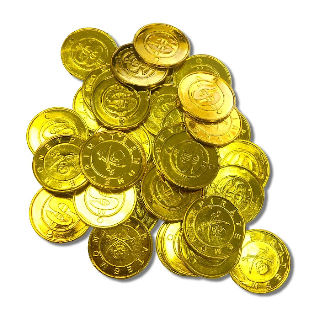 Gallery For > Real Bag Of Gold Coins