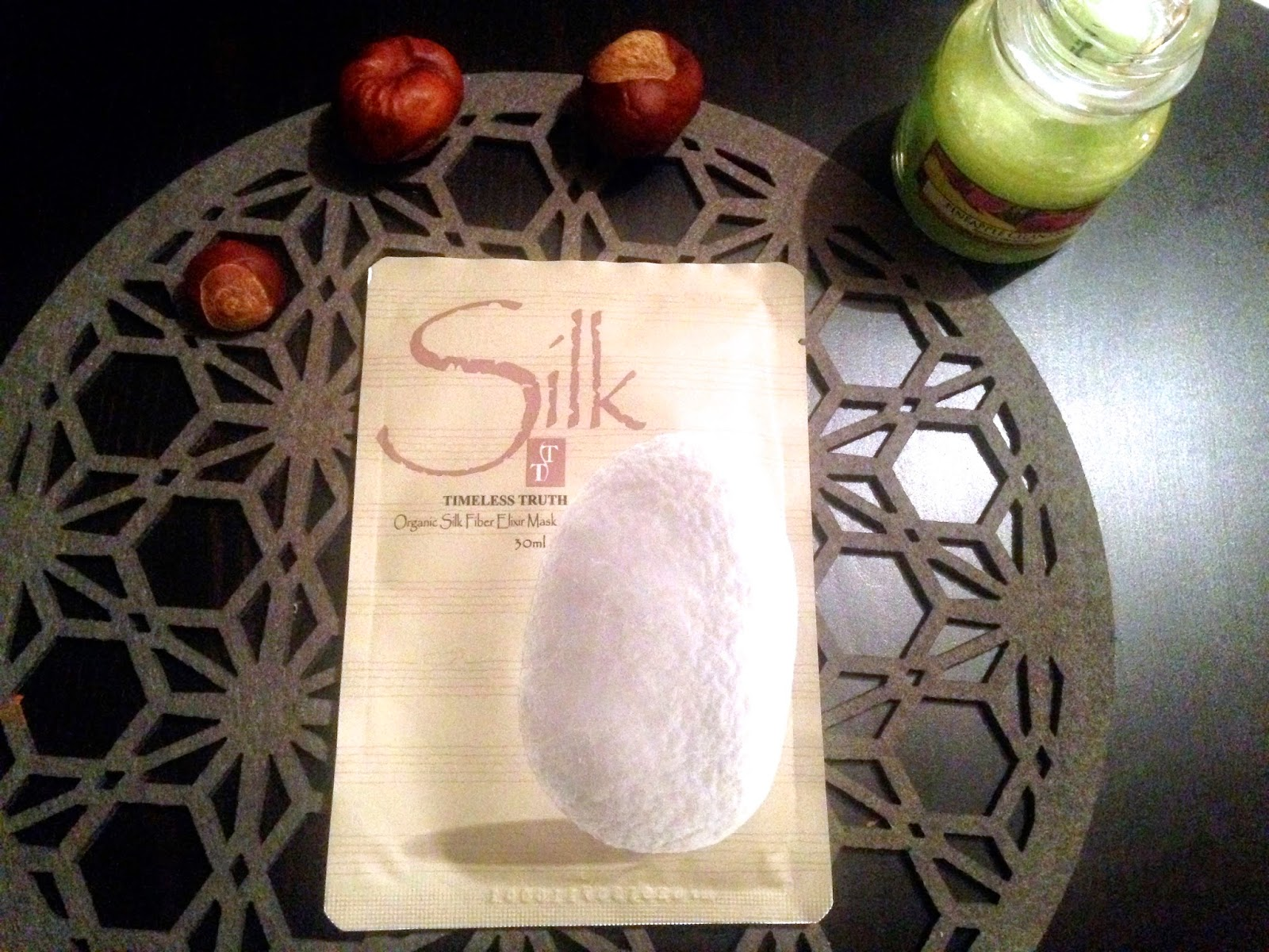 Timeless Truth Organic Silk Fiber Elixr Mask