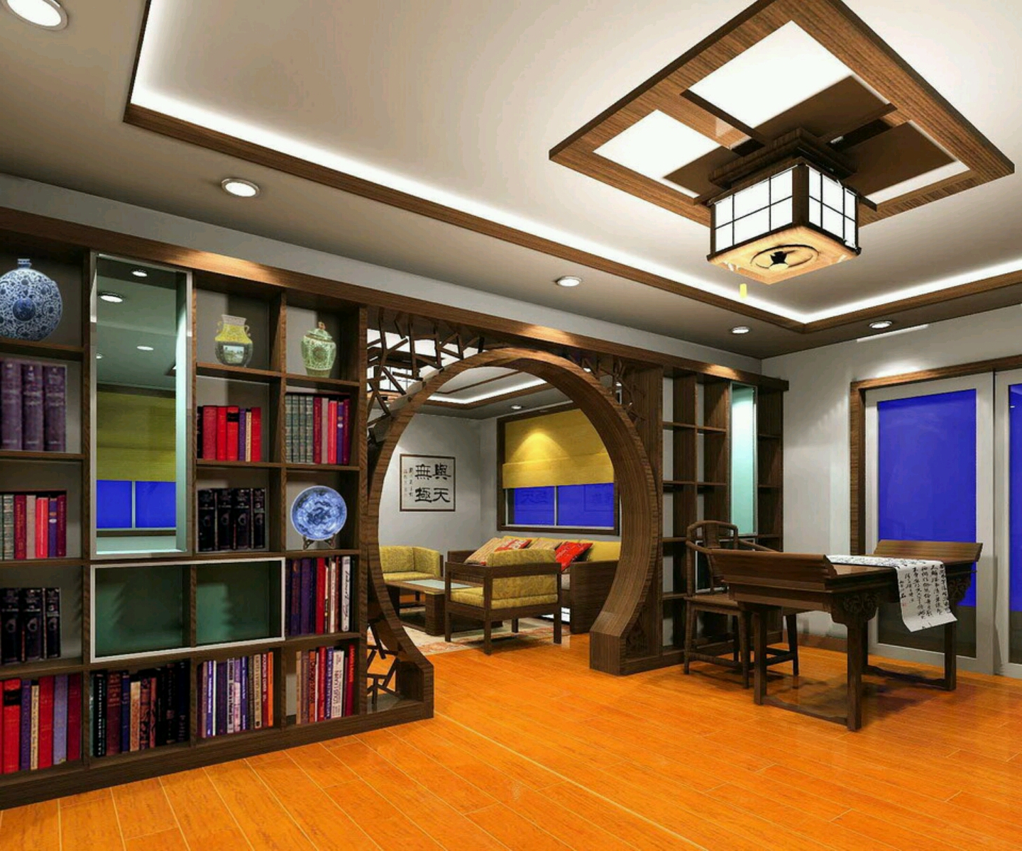 Best Study Room Design : Modern Furniture: Modern study room furnitures designs ideas.