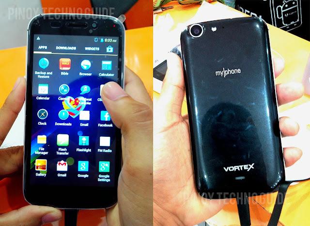 MyPhone Vortex - MyPhone Agua Vortex