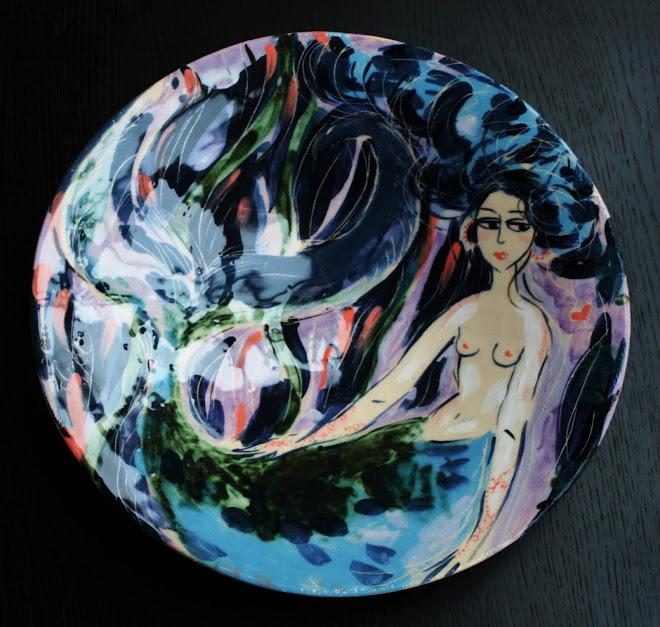 Sirène au henné