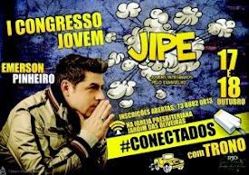 I Congresso Jovem JIPE em Itabuna-BA.