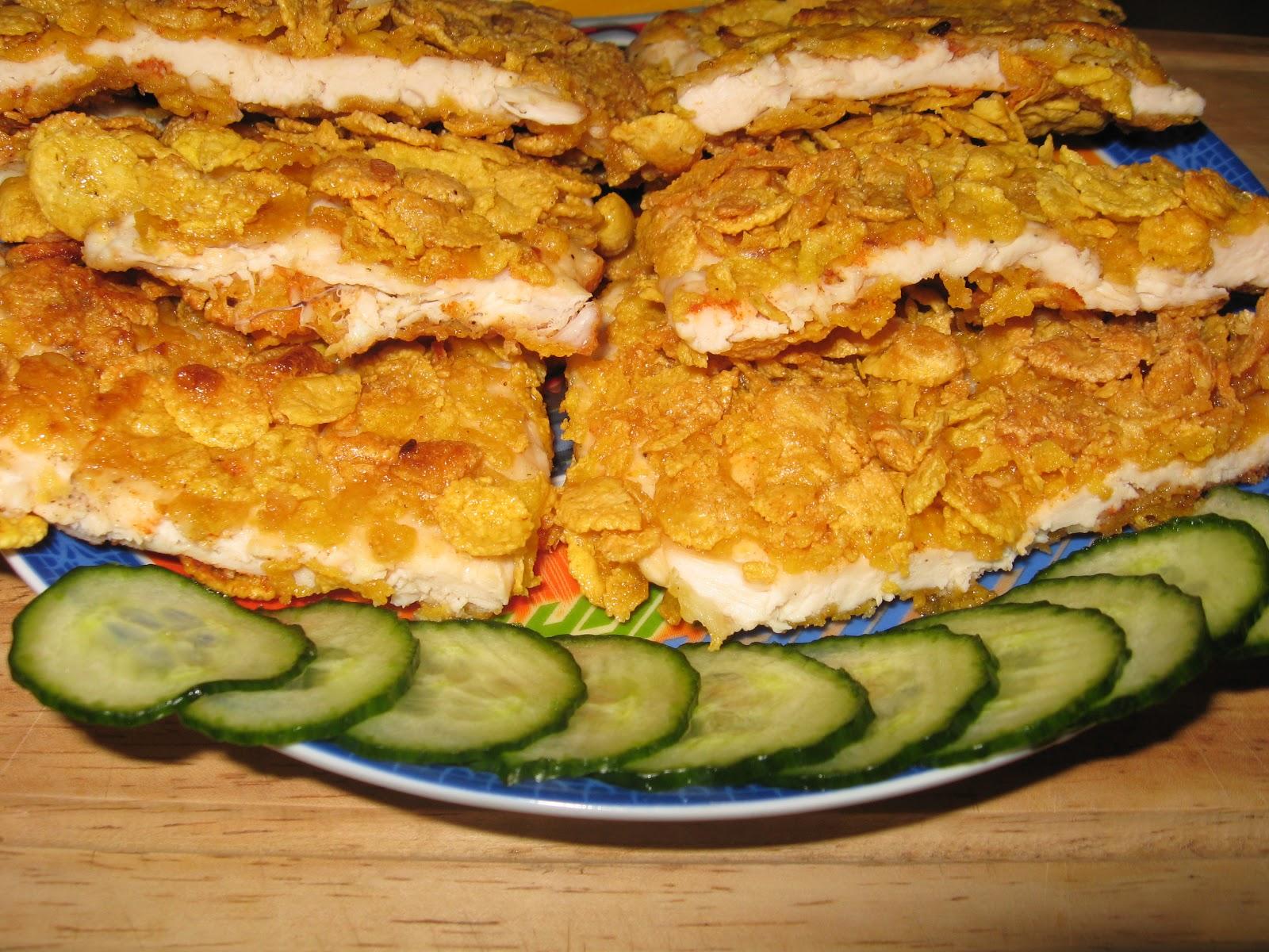 Mozesz Potrafisz Filety Z Kurczaka W Platkach Kukurydzianych