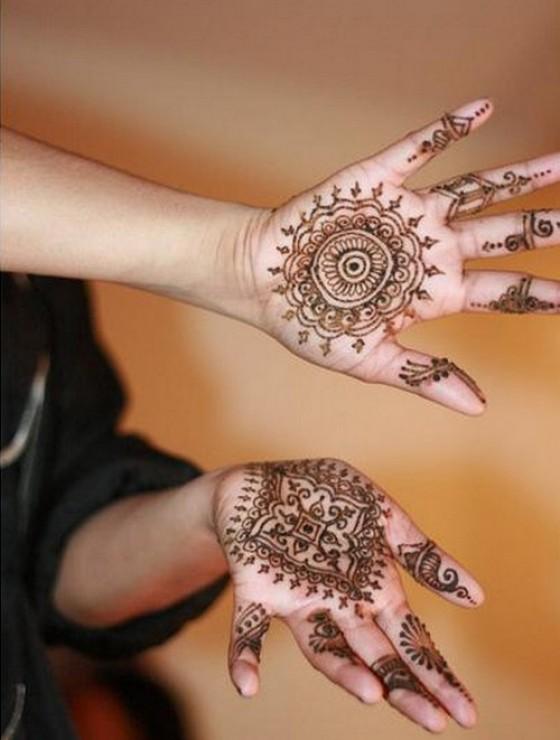 Mehndi Designs For Teenage Hands : Eid al fitr simple mehndi designs for teenage girls