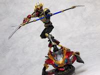 S.I.C. Kiwami Tamashii Kamen Rider Agito Trinity Form