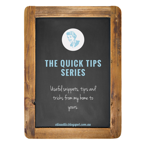 THE QUICK TIPS SERIES