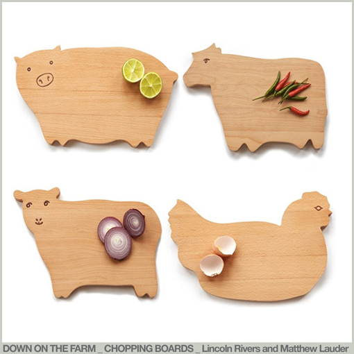DOWN ON THE FARM - CHOPPING BOARDS