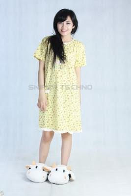 Foto Baju Hamil Kuning Lucu