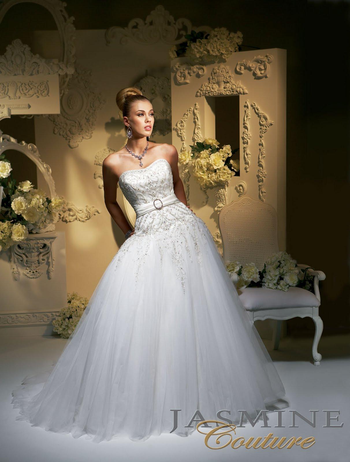 elegant bridal dress jasmine couture temple ready wedding ForTemple Ready Wedding Dresses