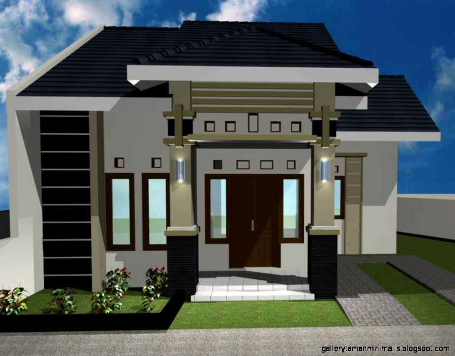 Gambar Rumah Minimalis Idaman  Gallery Taman Minimalis